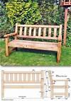 25+ Best Ideas about Garden Bench Plans on Pinterest pinterest garden bench ideas