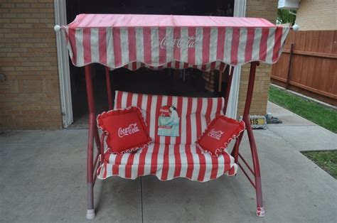 coca cola swing bench ptci classifieds