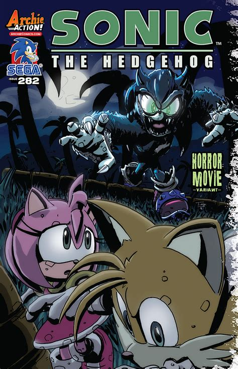 comic book preview sonic  hedgehog  bounding