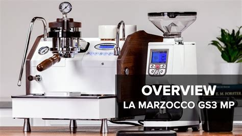 la marzocco gs3 la marzocco gs3 mp espresso machine review