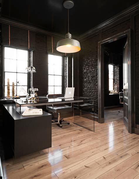 modrest alaska black oak office desk office