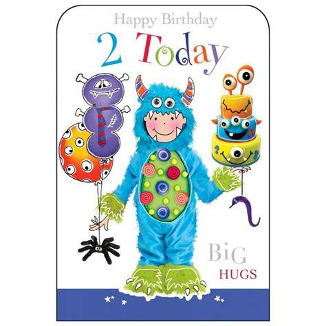 Birthday Card Image 2 by Happy Birthday 2 Today Boys Birthday Card Karenza Paperie