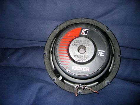 free air subwoofer fs kicker free air subwoofer 8 quot club lexus forums