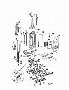 Hoover Upright Vacuum Cleaner Parts
