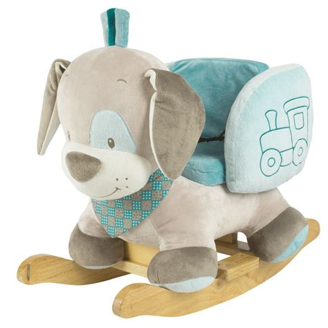 Plushtimber Rocking Dog Rocker Chair Toyride On For