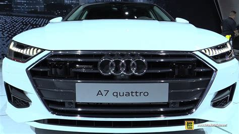 2019 Audi A7 Frankfurt Auto Show by 2019 Audi A7 Exterior And Interior Walkaround 2018