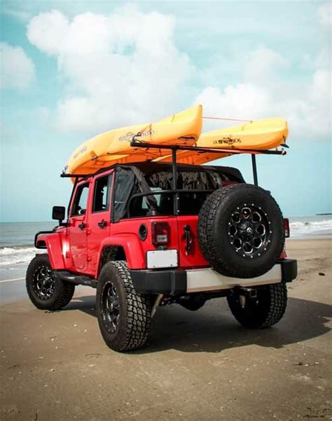 jeep kayak rack kayak rack is a must http automobilevehiclequotes