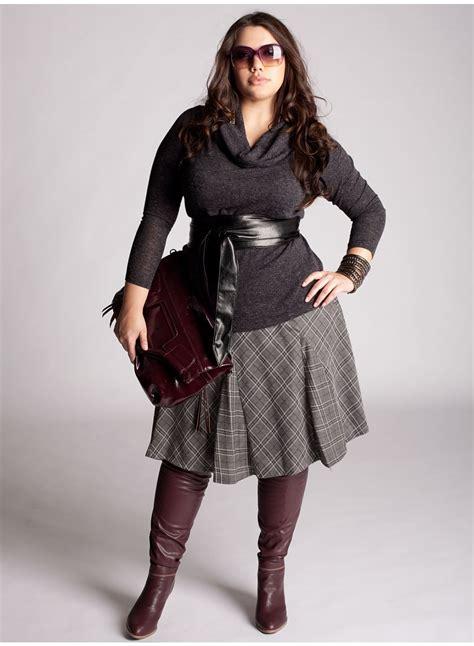 Fashion tights skirt dress heels  Plus Size Fashion