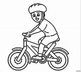 Coloring Pages Bike Bmx Riding Helmet Cycling Colouring Bicycle Printable Template Print Getcolorings Rider Wearing Olympic Results Cycle Popular sketch template