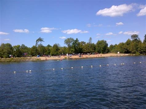 Balsam Lake Boat Launch by Beach Picture Of Balsam Lake Provincial Park Kirkfield
