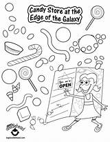 Toy Coloring Store Pages Grocery Pdf Story Getcolorings Getdrawings Printable Colorings sketch template