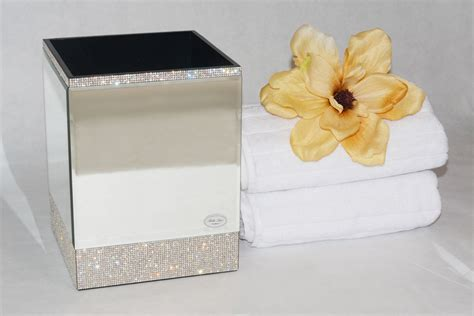 new bella lux luxury mirrored crystal rhinestone bathroom