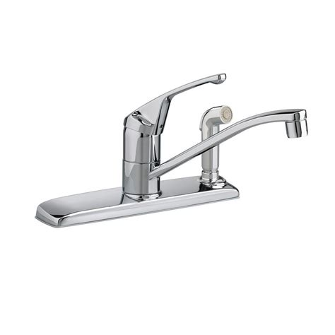 standard kitchen faucet standard colony single handle standard kitchen