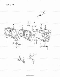 Suzuki Motorcycle 1998 Oem Parts Diagram For Speedometer