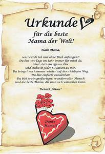 Die Beste Taschenlampe Der Welt : urkunde die beste mama der welt danksagung zu weihnachten ~ Jslefanu.com Haus und Dekorationen