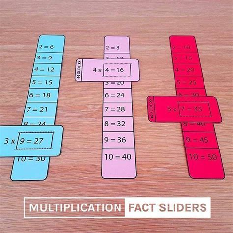 639 best photo images on multiplication tables