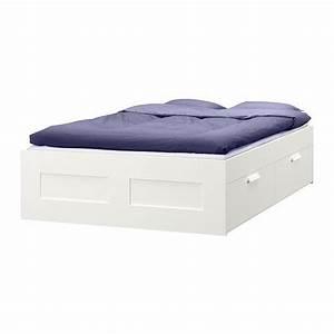 Lit Ikea Rangement : brimnes cadre lit avec rangement ikea ~ Teatrodelosmanantiales.com Idées de Décoration
