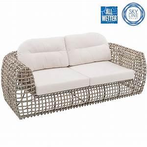 Garten Lounge Sofa : lounge sofa garten terrasse gastro qualit t skyline ~ Whattoseeinmadrid.com Haus und Dekorationen