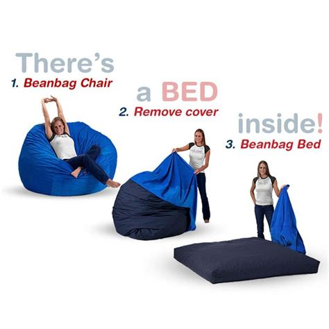 cordaroys bean bag bed chocolate micro suede size bean bag chair bed