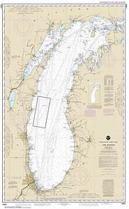 California Nautical Charts Themapstore Noaa Charts Great Lakes Lake Michigan