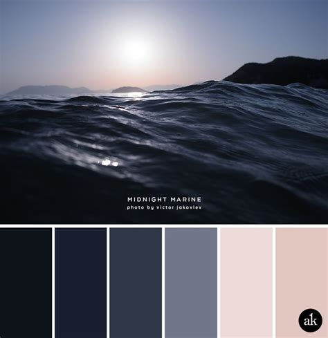 Bedroom Color Palette by A Sea Inspired Color Palette Color Palettes Bedroom