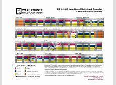 Wake County Track Out Calendar For 2016 2017 Calendar