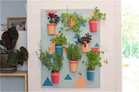 plantes aromatiques cuisine diy couleurs et senteurs un mur de plantes aromatiques