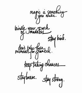 "Dina Wakley Media Cling Stamps 6""X9""-Handwritten Quotes ..."