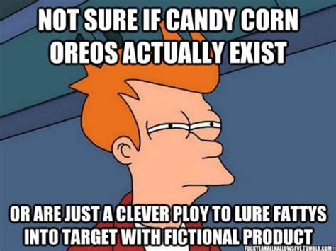 Candy Corn Meme - 16 funny halloween memes