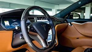 T Sportline Can Trim Your Tesla In Real Luscious Leather | Carscoops