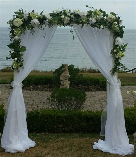 wedding sheer drapes 22 best wedding arches images on wedding