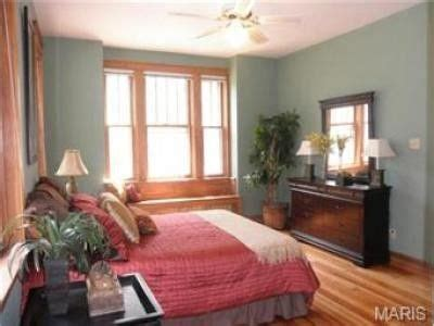 color works   natural wood trim   bedroom
