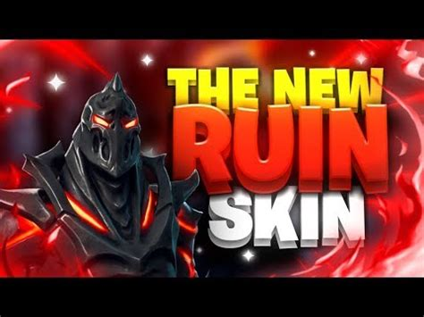 fortnite mobile custom scrims  ruin skin gameplay