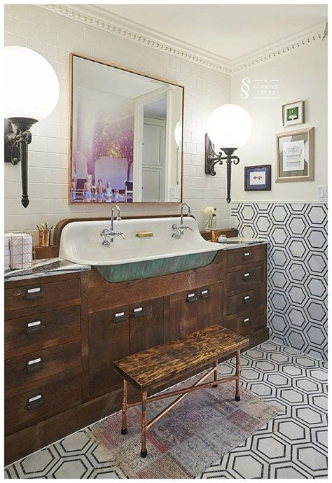 Vintage Retro Bathroom Decor by Bhg Style Spotters