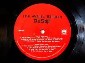 The White Stripes De Stijl TMR 32 record label – Every ...