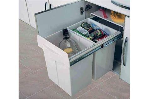 poubelle cuisine tri selectif poubelle tri selectif maxus accessoires de cuisines