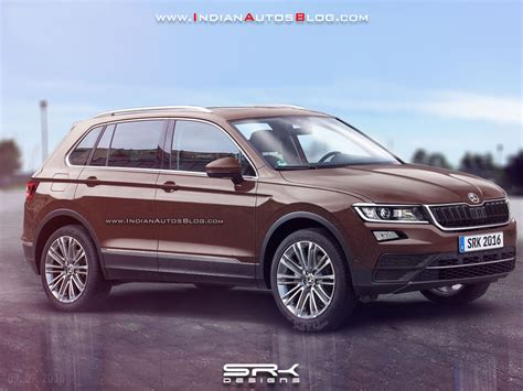 all new 2018 all new 2018 skoda yeti will look like the kodiaq