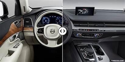 Q7 Audi Volvo Xc90 Interior Annotated Caricos
