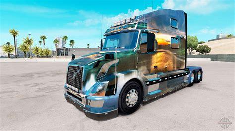 nature skin  volvo truck vnl   american truck