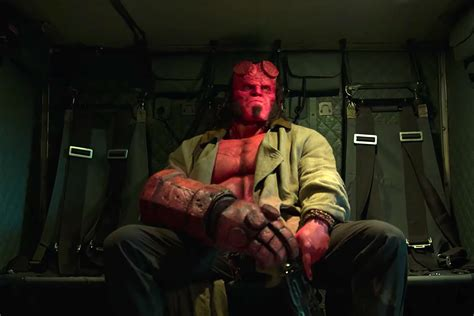 hellboy reject ancient sorceress  bloody reboot