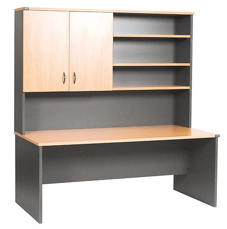 Office Desk With Bookcase by Academy Desk With Bookcase Hutch