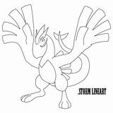 Coloring Stagecoach Lugia Pages Getcolorings Outstanding sketch template