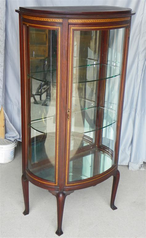 antique curio cabinets bargain s antiques 187 archive antique mahogany