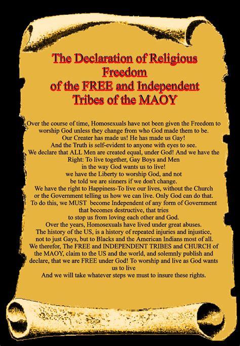god s gay tribe