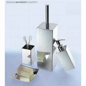 Beautiful designer bathroom accessories accessories for Beekman home bathroom accessories
