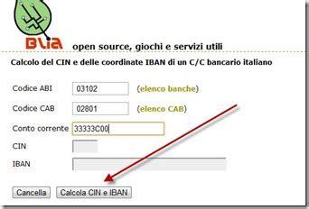 Trova Abi Cab by Come Trovare I Codici Abi Cab Cin Iban E Bic Di