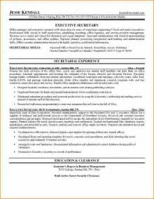 Secretary Resume Examples Samples