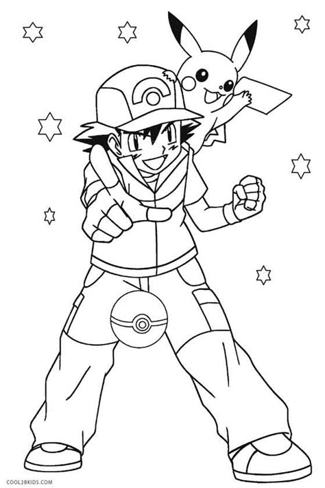 pikachu coloring pages coolbkids