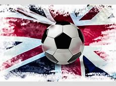 Soccer Ball With Great Britain Flag Free Stock Photo