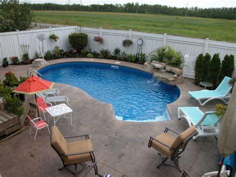 ideas  wonderful mini swimming pools    yard